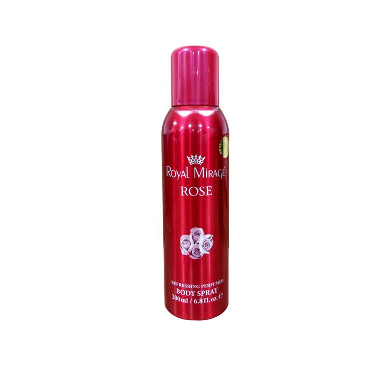 Royal Mirage Rose Body Deodorant Spray - For Women  (200 ml)