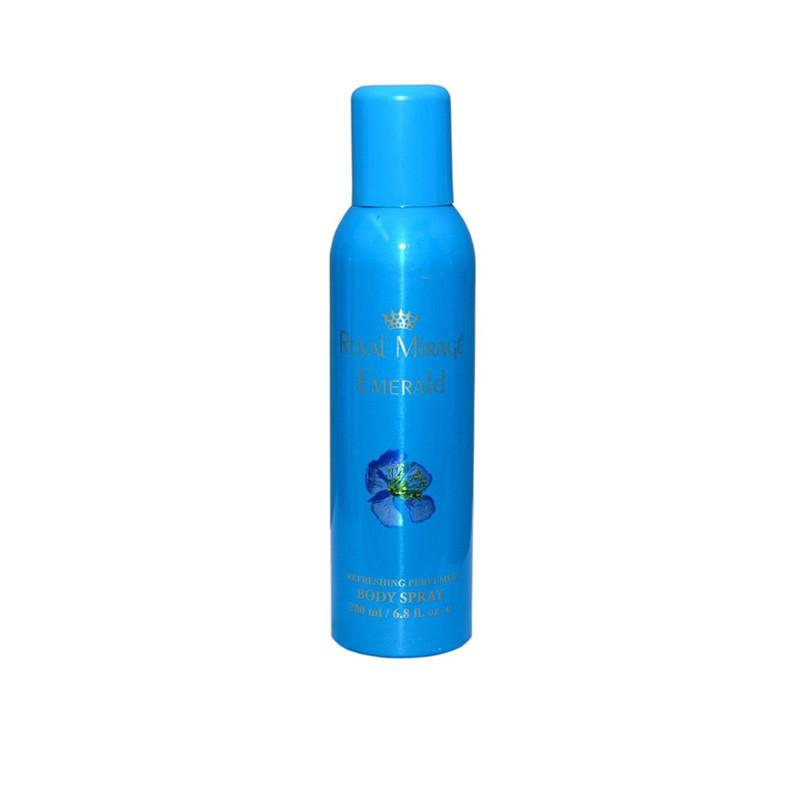 Royal Mirage (Emerald) Deodorant Spray - For Men 200Ml