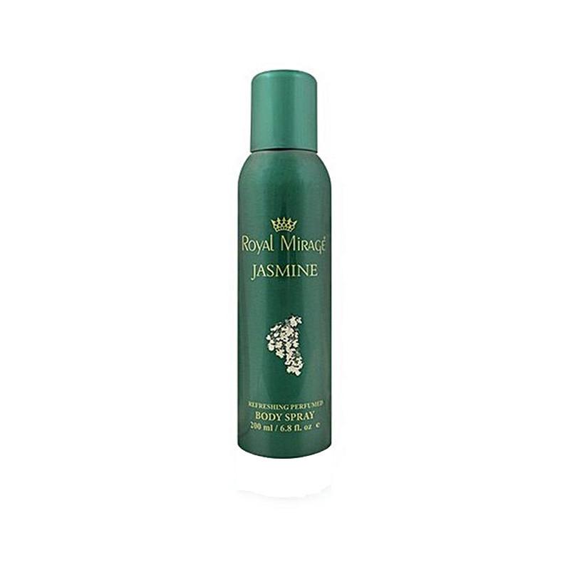 Royal Mirage Jasmine Body Deodorant Spray - For Men & Women  (200 ml)