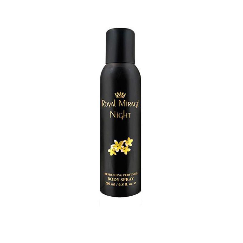 Royal Mirage NIGHT Perfume Body Spray - For Men  (200 ml)
