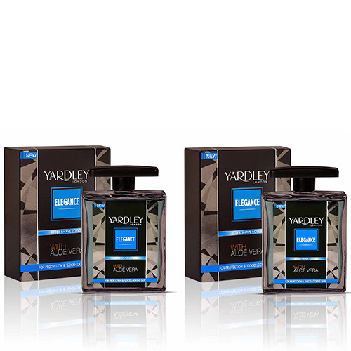 Yardley Elegance After Shave Lotion 100ml (Pack of 2)