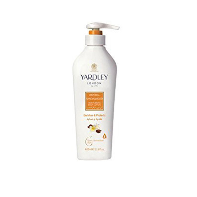 Yardley London Sandalwood Hand & Body Lotion 350ml For Women