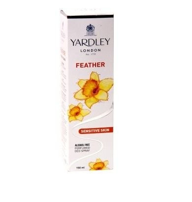 Yardley Feather Skin Sensitive Deo, 150ml For Women