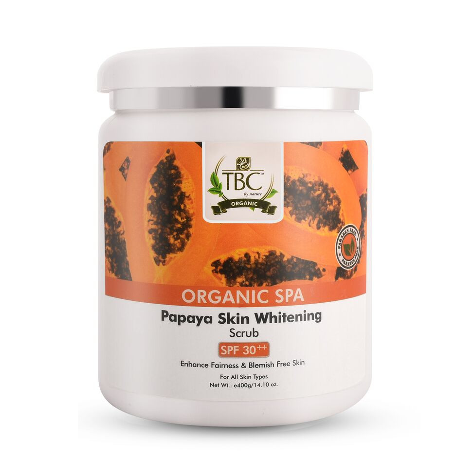 TBC Pro Organic Papaya Face Scrub 400gm