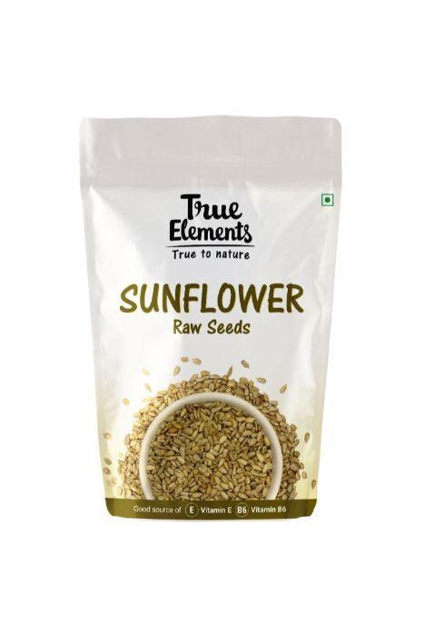 True Elements Raw Sunflower Seeds 500gm