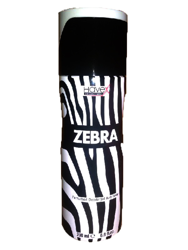 Havex Zebra Body Spray 200ml