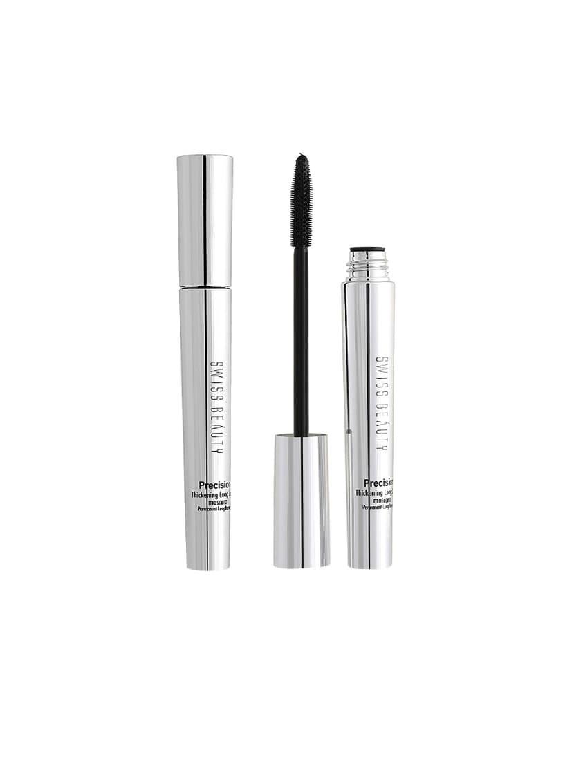 Swiss Beauty Precision Thickening Long Lash Deep Black Mascara