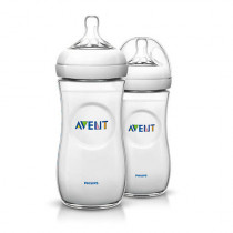 Philips Avent 330ml Natural Feeding Bottle (2 Pieces)