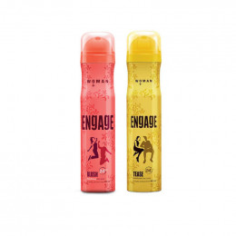 Engage Blush and Tease Deodorant Spray - For Women  (150 ml)