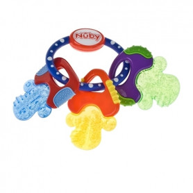 Nuby Icybite Soothing Teether , Multiple teething surfaces