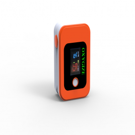 Oxygize Fingertip Pulse Oximeter- Orange