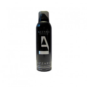 Azzaro Balck Deodorant Spray - For Men 200Ml