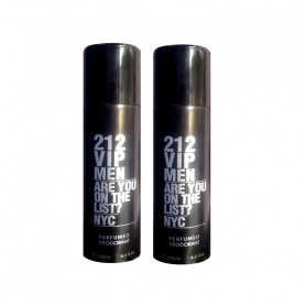 212  Vip Men Nyc Deodorant 200Ml (Pack Of 2)