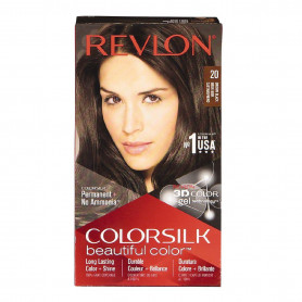Revlon ColorSilk Beautiful Hair Color No - 20 Brown Black