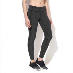 Silvertraq Women's Melange Track Leggings - Grey