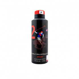 Beverly Hills Polo Club Deo Sport Black For Men 2 - (175 ml)