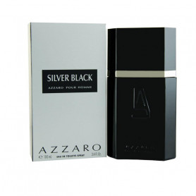 Azzaro Silver Black Eau de Toilette - 100 ml  (For Men)