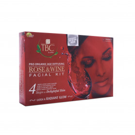 TBC Rose N Wine Facial Kit 55gm