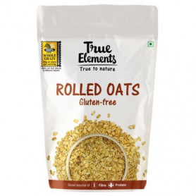 True Elements Rolled Oats Gluten Free 500gm