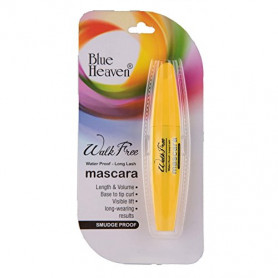 Blue Heaven Walk Free Mascara (Water Proof - Long Lash) Yellow Pack (12 ML)