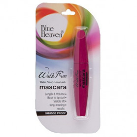 Blue Heaven Walk Free Mascara (Water Proof - Long Lash) Pink Pack (12 ML)