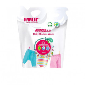 Farlin clothing detergent refill pack  (800 ml)