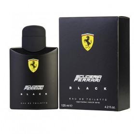 Ferrari Scuderia Eau De Toilette Spray for Men, Black, 125ml