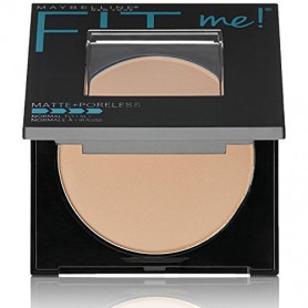 Maybelline New York Fit Me Matte Poreless Powder, 110 Porcelain, 8.5g