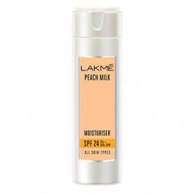 Lakme Peach Milk Moisturizer SPF 24 PA Sunscreen Lotion 120 ml