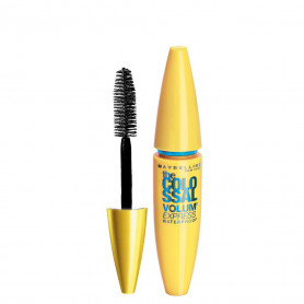 Maybelline New York Volume Express Colossal Masacara, Waterproof, Black, 10g