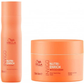 Wella Professionals Invigo Nutri Enrich With Goji Berry Deep Nourishing Shampoo and Mask