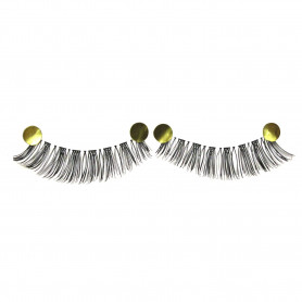 MapofBeauty 10 Pairs Handmade Soft Makeup False Eye Lashes (Black-#05)