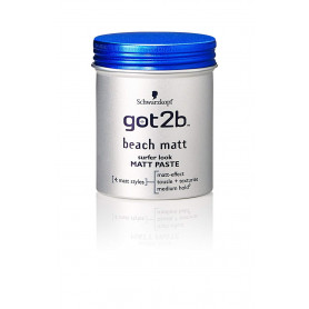 Schwarzkopf Got2b Beach Matt Paste 100 ml
