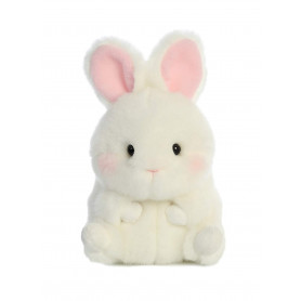 Bunbun Bunny Rolly Pet 5 inch - Stuffed Animal by Aurora Plush (08820)