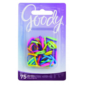 Goody Classics Elastic, Polybands Mini Neon 75, 0.079 Ounce