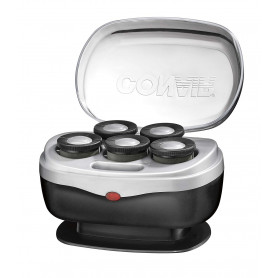 Conair Instant Heat Travel Hot Rollers, Black