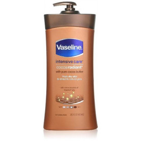 Vaseline Intensive Care Cocoa Radiant Body Lotion 600Ml