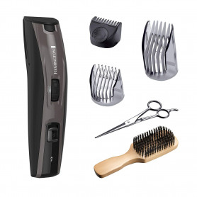 Remington Mb4045 B The Beardsman Beard Boss Full Beard Grooming Kit, Platinum