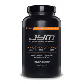 JYM Supplement Science, ZMA JYM, Zinc and Magnesium Supplement, 90 Vegetarian Capsules
