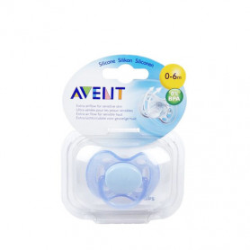 Philips Avent Freeflow Pacifiers Soother 0-6M Blue