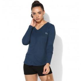 Silvertraq Women's Yoga Modal tee - Blue