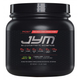 JYM Supplement Science, POST JYM Fast-Digesting Carb, Post-Workout Powder, Natural Lemon Lime, 30 Servings