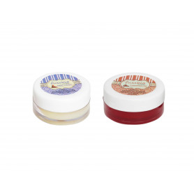 Fuschia – Caramel & Pomegranate Lip Balm Combo 16gm