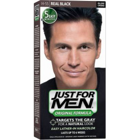 Just For Men Hair Color H-55 Real Black