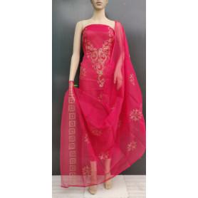 Kota Doria Dress Material With Bottom