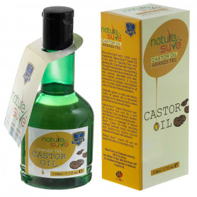 Nature Sure™ Castor Oil (Ricinus communis) – Therapeutic Carrier Oil for Skin, Hair and Health