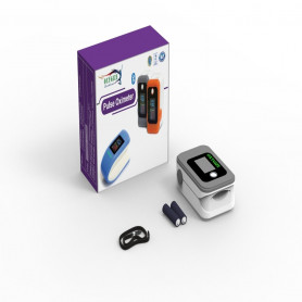 Oxygize Fingertip Pulse Oximeter - Grey