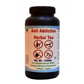 Tonga Herbs Anti Addiction Herbal Tea - 250 Gm (Buy Any Supplement Get The Same 60ml Drops Free)