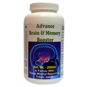 Tonga Herbs Advance Brain And Memory Booster Powder - 200Gm (Buy Any Supplement Get The Same 60ml drops Free)