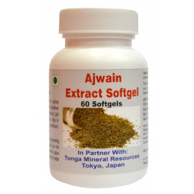 Tonga Herbs Ajwain Extract Softgel - 60 Softgels (Buy Any Supplement Get The Same 60ml Drops Free)